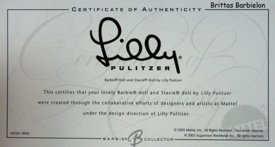 Lilly Pulitzer Barbie® and Stacie® Giftset Bild #07