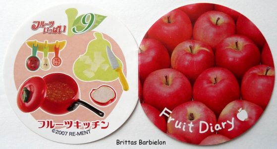 Many Fruits Re-ment Bild #44