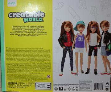Mattel Creatable World, Charakter 619, Deluxe Kit dc-61 9