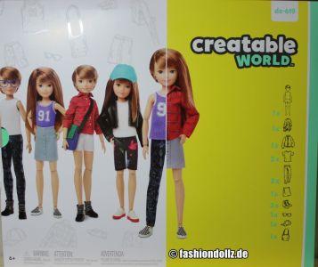 Mattel Creatable World, Charakter 619, Deluxe Kit dc-6 19