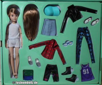 Mattel Creatable World, Charakter 619, Deluxe Kit dc    - 619
