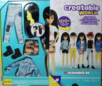 Mattel Creatable World, Kid Charakter 073, Deluxe dc-073 (1)