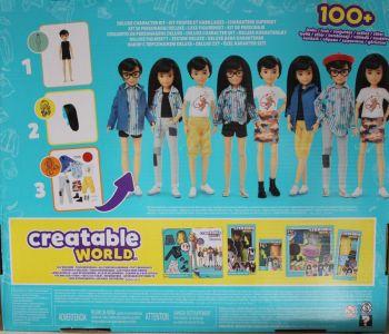 Mattel Creatable World, Kid Charakter 073, Deluxe dc-073 (1b)
