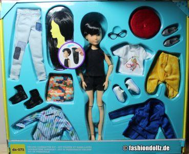 Mattel Creatable World, Kid Charakter 073, Deluxe dc-073 (2)