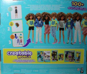Mattel Creatable World, Kid Charakter 220, Deluxe dc-220