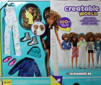 Mattel Creatable World, Kid Charakter 220, Deluxe dc  -220