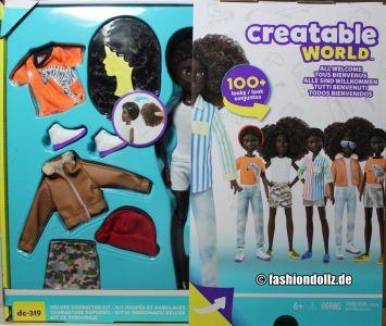 Mattel Creatable World, Kid Charakter 319, Deluxe dc-319