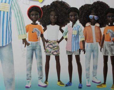 Mattel Creatable World, Kid Charakter 319, Deluxe dc-3 19