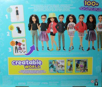 Mattel Creatable World Kid Charakter 557, Deluxe Set ds - 557