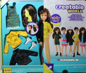 Mattel Creatable World, Kid Charakter 965, Deluxe dc- 965