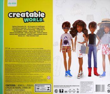 Mattel Creatable World Kid Charakter 826, Deluxe dc-826