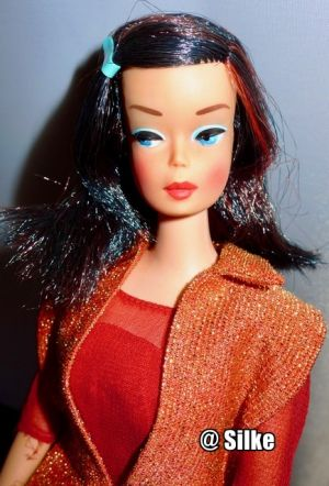 1966 Color Magic Barbie, midnight #1060