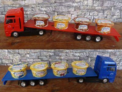 Mini Werbetruck Mit Landliebe Joghurt