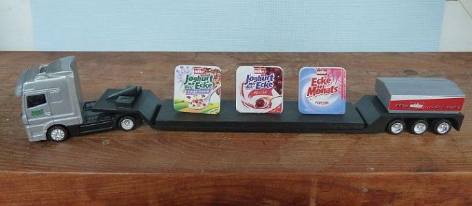 Mini Werbetruck Mit Müller Joghurt