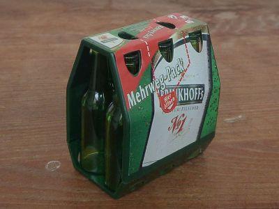 Mini Werbetruck mit Bier im Sixpack (2)
