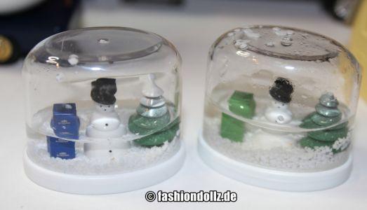 Mini Werbetrucks - Schneekugeln