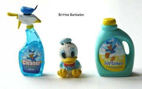 """Disney Go Go Mart"" - Glasreiniger, Dekofigur, Weichspüler (Donald Duck)"