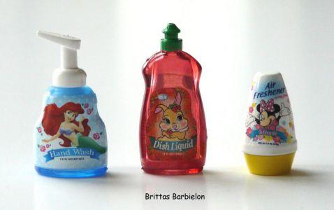 """""""Disney Go Go Mart"""" - Flüssigseife (Arielle, die Meerjungfrau), Spülmittel, Duftstein (Minnie Maus)"""