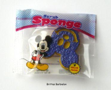 """""""Disney Go Go Mart"""" - Schwamm in Form des Micky Maus-Kopfes"""