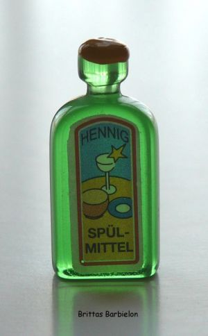 Miniatur Spülmittel Hennig