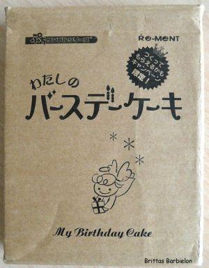 My Birthday Cake Re-ment Bild #01
