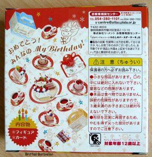 My Birthday Cake Re-ment Bild #03