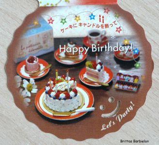 My Birthday Cake Re-ment Bild #07