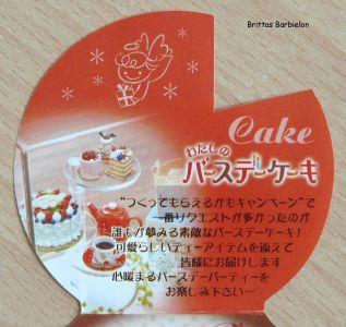 My Birthday Cake Re-ment Bild #10