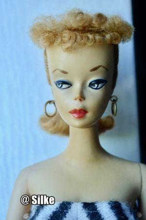 1959 Ponytail Barbie No. 1, blonde #850