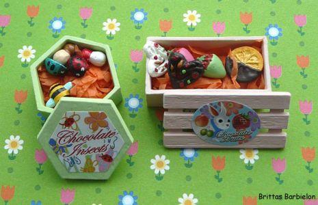Osterdeko Miniaturen Re-Ment-Sets