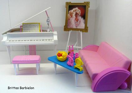 Piano Concert SuperStar Barbie Bild #01