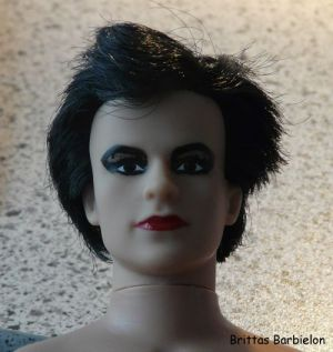 Robert Smith - The Cure - OOAK - Bild 03