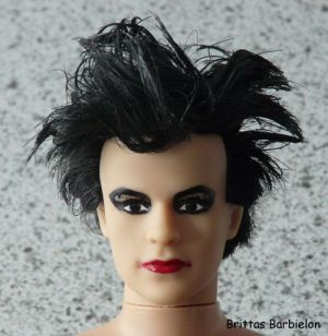 Robert Smith - The Cure - OOAK - Bild 04