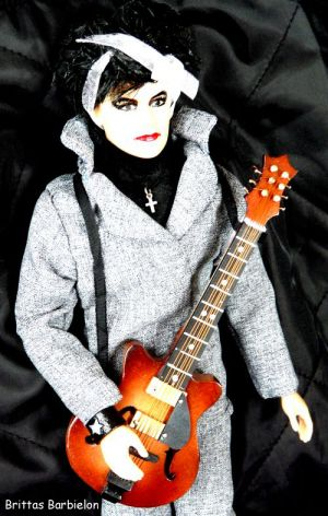 Robert Smith - The Cure - OOAK - Bild 15