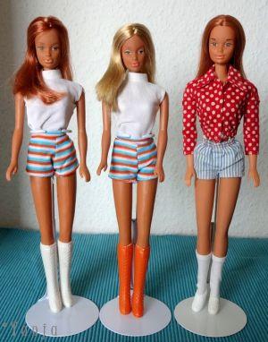 1974  Super Linna red & blonde & Yellowstone Kelly