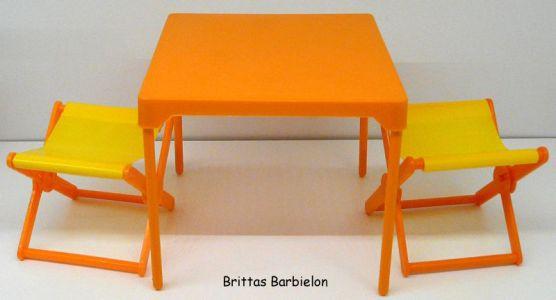 Tische und Stühle von Mattel Bild #087