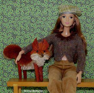 Waldtiere in Barbielon - Fuchs-Dekofigur von Butlers