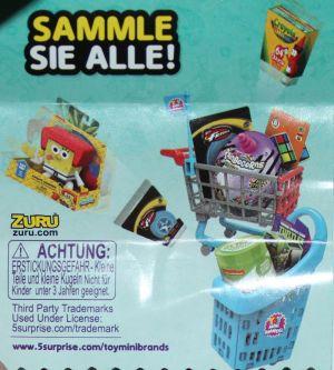 ZURU - 5 Surprise, Toy Mini Brands, Sammel-Guide