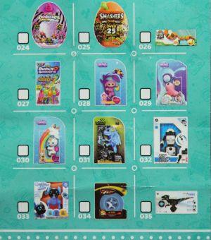 ZURU - 5 Surprise, Toy Mini Brands, Sammel-Guide 024-035