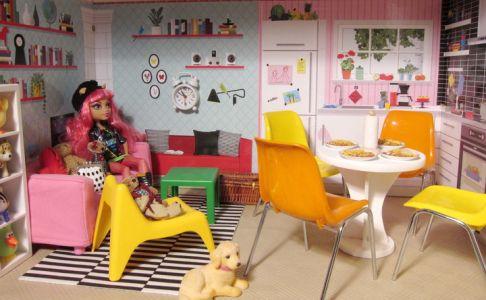 Huset und Spexa von Ikea mit weiterem Zubehör