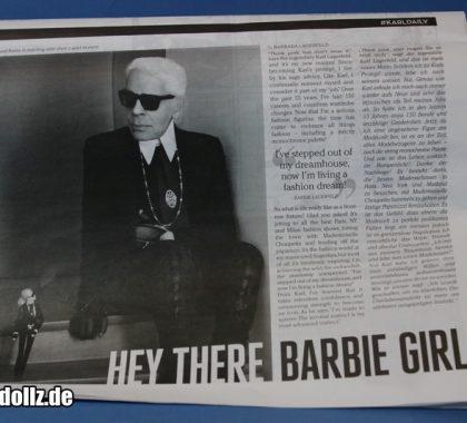 Karl Lagerfeld Zeitung