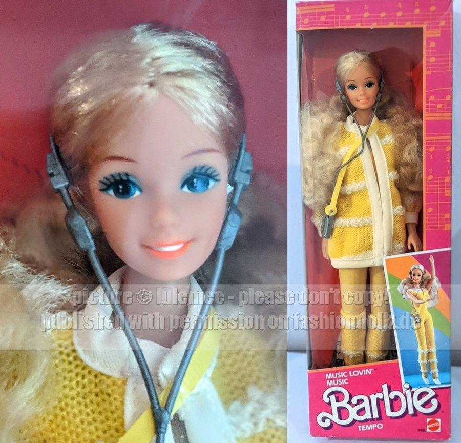 1986 Music Lovin\\\' Barbie China