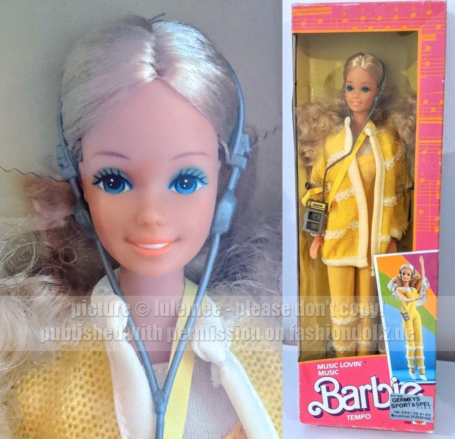 1986 Music Lovin\\\' Barbie Hongkong