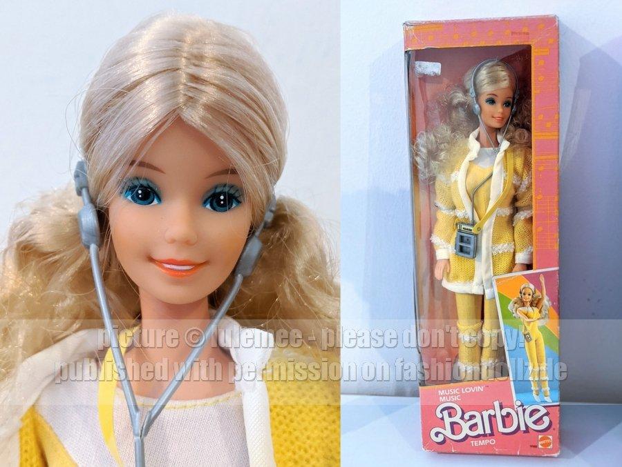 1986 Music Lovin\\\' Barbie Malaysia