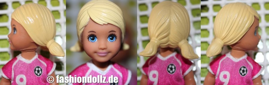 2015 Headmold Toddler Girl with low pigtails