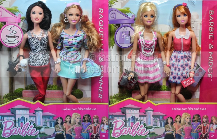 Barbie Dreamhouse Dolls