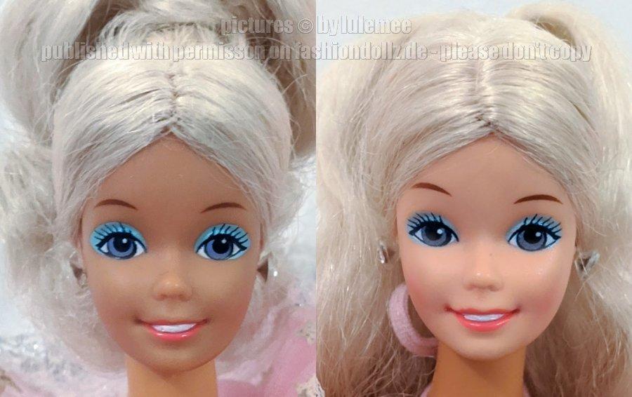 Dream Glow Barbie China Köpfe