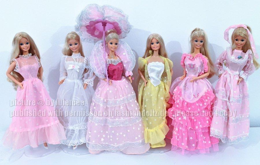 Dreamglow Barbie Variationen