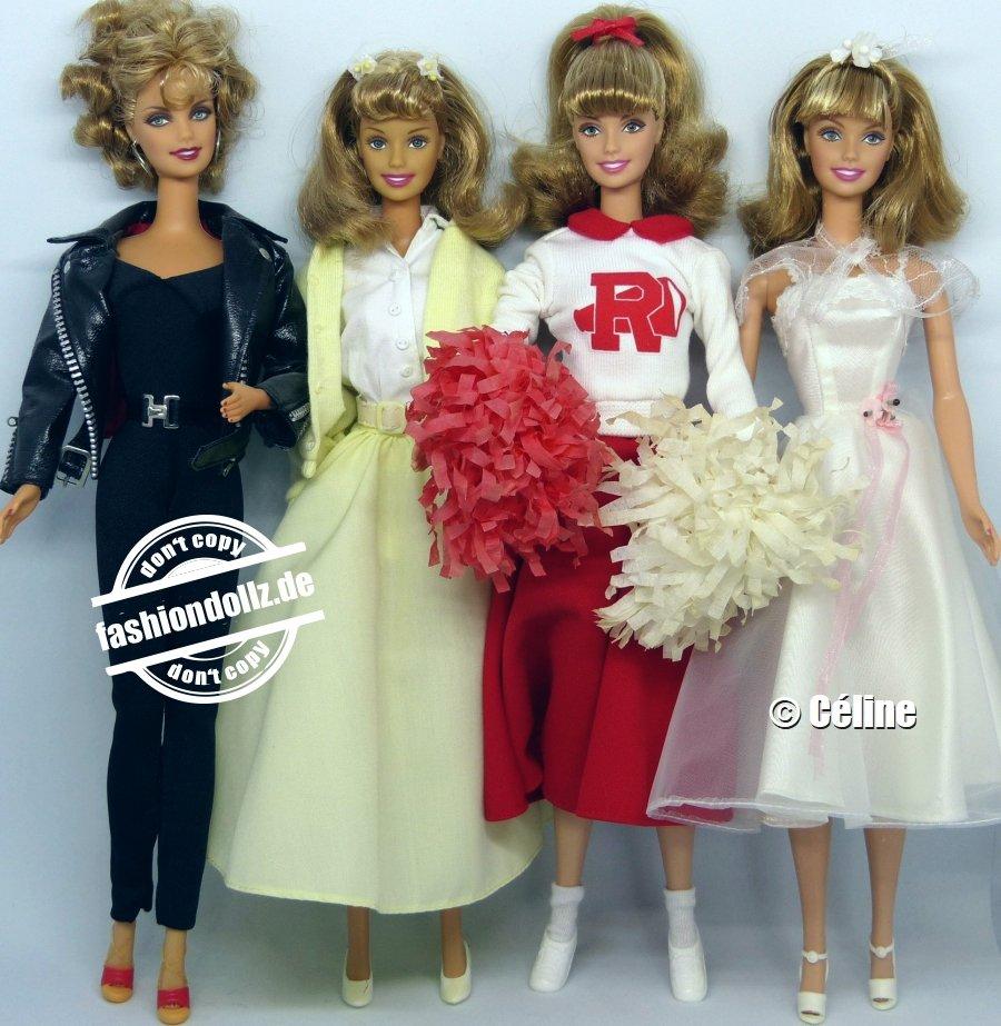 Grease Sandy Barbies