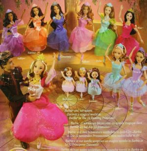 2006 Barbie and the 12 Dancing Princesses